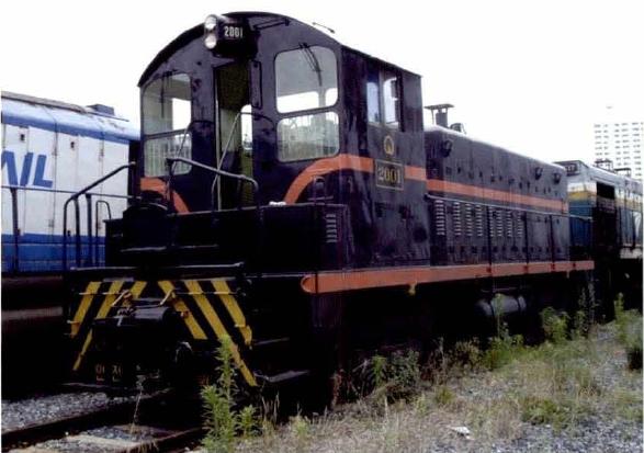 제 416 호 부산 디젤전기기관차 2001호